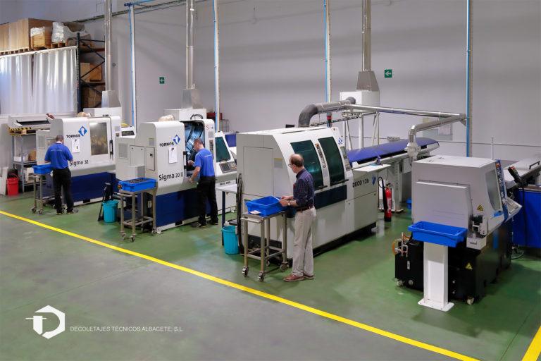decoletajes mecanizado especialistas precisión tecnología